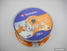 Verbatim 43538 - DVD-R 4.7GB 16x Speed, 25er Printable Spindel DVD-Rohlinge, NEU