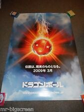 DRAGONBALL: EVOLUTION - ORIGINAL DS ROLLED JAPANESE POSTER - 2009 - EMMY ROSSUM
