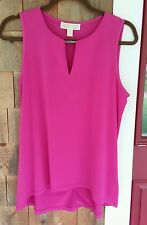 Michael Kors Woman's Sleeveless Top Radiant Pink Size M