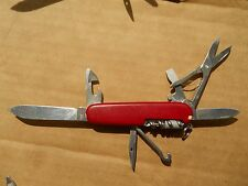 Victorinox Climber Swiss Army knife in red - with hook, pin and micro driver