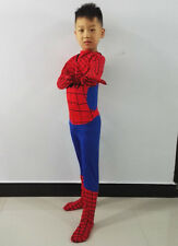 Halloween Kids Boy Spiderman Fancy Cosplay Party Costume Outfits Clothing Size S
