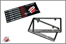 Password JDM License Plate Frames and Bumper Stickers