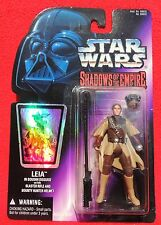 Figurine Star Wars SHADOWS OF THE EMPIRE. Leila. Kenner 1996. Neuf sous blister
