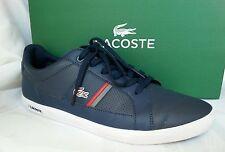 LACOSTE men's sneakers 7-29SPM20331P4 blu/red size 10.5