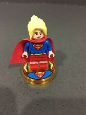 Lego Supergirl Dimensions Figure And Base. Free Post