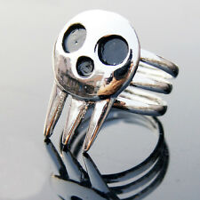 Hot Anime Soul Eater Death the Kid Ring Cosplay Prop Gift