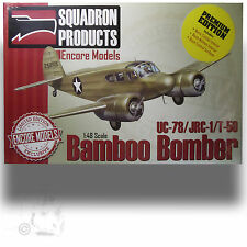 "ENCORE 1/48 CESSNA UC-78 ""BOBCAT"" BAMBOO BOMBER PREMIUM EDITION KIT W RESIN OPT"