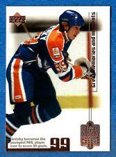 1999-00 Upper Deck WAYNE GRETZKY  Living Legend 99 - card # 80