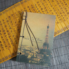 Retro Tower Journal Memo Dream Notebook Paper Notepad Blank Line Diary Gift New