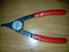 Used Snap On inside/outside snap ring pliers p/n PRH 129