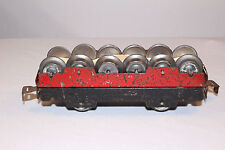 1940's Marx Wheelset Car with 6 Sets of Wheels, Original, Lot #2