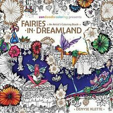 Fairies in Dreamland Adult Coloring Book NEW RELEASE SEPTEMBER 13