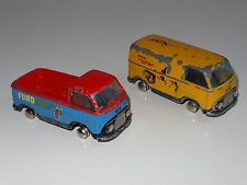 (A) tekno LOT OF 2  FORD TRANSIT TAUNUS PICKUP FORD SERVICE / VAN  - 421 / 419