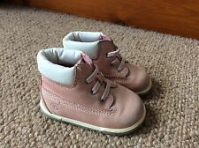Girls Infant Pink Timberland Boots UK Size 1.5