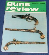 GUNS REVIEW MAGAZINE AUGUST 1979 - BLACK POWDER PART III