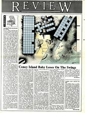 SL20/2/76p37 Review & Picture : Lou Reed- Coney island baby