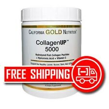 Fish Collagen 461 gr. 5000mg Hylauronic Acid Vitamin C California Gold Nutrition