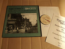 RAGTIME 1 - THE CITY - COMPILED & ANNOTATED by SAMUEL CHARTERS - LP - RBF 17