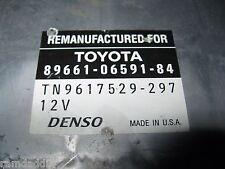 OEM 98 99 Lexus for ES300 ECU ECM ENGINE CONTROL MODULE 1UZ-FE 89661-06591-84
