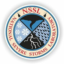 1x STICKER US National Severe Storms Laboratory NSSL