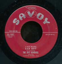 45bs-R&B vocal group-SAVOY 1508-The Jive Bombers