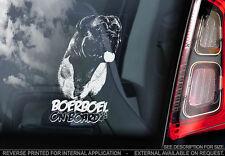 Boerboel - Car Window Sticker - Dog Sign -V07