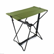 FOLDING CAMPING POCKET CHAIR COLLAPSIBLE OUTDOOR FOLD UP STOOL FISHING GARDEN