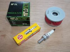 Tune up Kit Suzuki DR250S DR 250S SE Oil Filter NGK Spark Plug 1993-1999