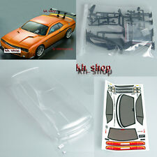 1:10 RC Car PC BODY SHELL for  Dodge viper SRT8 190mm PC201205 Transparent