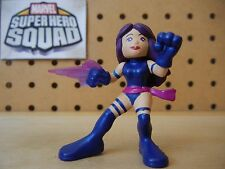 Marvel Super Hero Squad RARE PSYLOCKE w/ Purple Psychic Blade from Wave 7