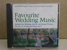 FAVOURITE WEDDING MUSIC- The Best of Classical for your Day CD (Cleobury)