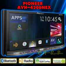 "PIONEER AVH-4200NEX 2-DIN 7"" TOUCHSCREEN DVD RDS RECEIVER BLUETOOTH HD RADIO NEW"