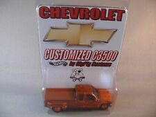 Chevy C3500 Custom Pickup GigPig Customs Hot Wheels Racing HOK Paint Chevrolet