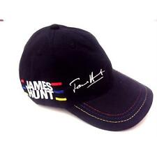 JAMES HUNT HAT CAP BLACK HELMET DESIGN FORMULA 1 F1 LIMITED EDITION
