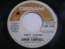 PROMO Junior Campbell Sweet Illusion / Ode to Karen 1973 45rpm VG+