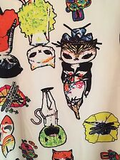 Japanese Style Cat And Dragonfly Shirt Or Dress