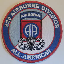 US ARMY 82ND AIRBORNE DIVISION 4 INCH ROUND PATCH - MADE IN THE USA!