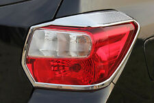Chrome Rear Tail Light Lamp Surrounding Garnish Trim for Subaru XV 11-16