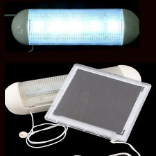 Indoor Solar Powered 10 LED Ultra Bright Rechargeable Battery Wall Light Garage