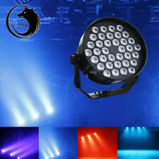72W 36PCS LED RGB Stage Lights DMX512 6CH Par Disco Party DJ Light Show US Plug
