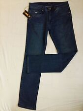 BNWT Authentic Men Blue  Zilli Jeans Made in France Size 30, RRP $899