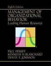 Management of Organizational Behavior: Leading  Human Resources (8th Edition) by