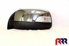 FORD RANGER PX UTE 2011-2015 NEW DOOR MIRROR CHROME ELECTRIC WITH FLASHER- LH