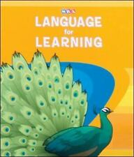 Language for Learning - Workbook A and B Cursive Writing