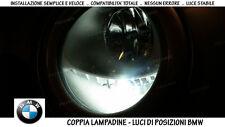 """COPPIA LAMPADINE LED BIANCO GHIACCIO POSIZIONI """"BMW SERIE 1 (E87)"""" (2003 - 2012)"""