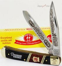 Kissing Crane Tennessee Whiskey 2 Blade Trapper Gentleman's Folding Pocket Knife