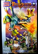 Mega Bloks Dragons Krystal Wars Vorgan Attack Game 2003 New 28 pieces .