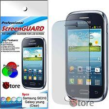 5 Pellicola Per Samsung Galaxy Young S6310 Pellicole Proteggi Salva Display