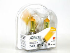 Nokya 2500K 60/55w Hyper Yellow H4/HB2 Halogen Headlight High/Low Beam Bulbs B
