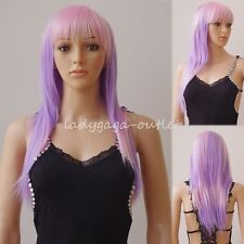 Fashion Cosplay Hair Wig Women Long Straight Curly Party Anime Costume Full Wigs